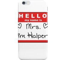 Mrs. Jim Halpert iPhone Case/Skin