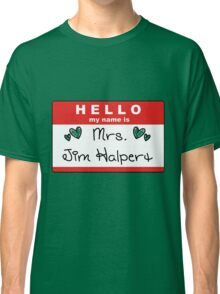 Mrs. Jim Halpert Classic T-Shirt