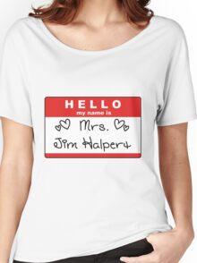 Mrs. Jim Halpert Women's Relaxed Fit T-Shirt