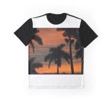 Royal Palm Sunset Graphic T-Shirt