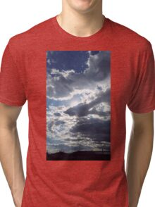 Sun through clouds Tri-blend T-Shirt