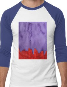 Edge of the West original painting Men's Baseball ¾ T-Shirt