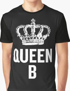 Queen B (White) Graphic T-Shirt
