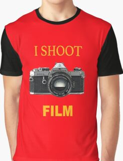 I Shoot Film Graphic T-Shirt