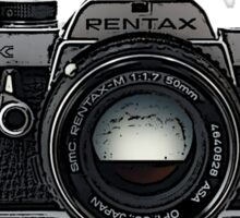 I Shoot Film Sticker