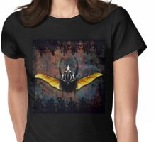 Vlad Tepes Insectus, winged beetle, gothic theme Womens Fitted T-Shirt