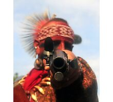 Point Blank Photographic Print