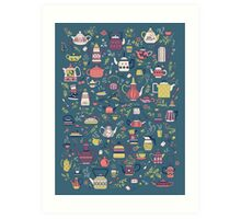 Teapots #3 Art Print