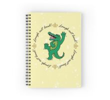 Notebook - Laughing Out Loud w/ White Splatter  Spiral Notebook
