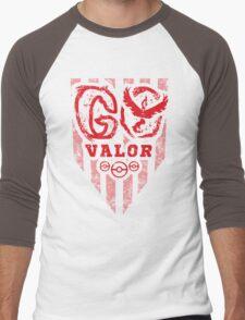 Go Red Men's Baseball ¾ T-Shirt