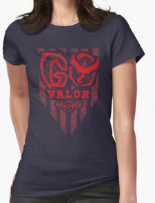 Go Red Womens Fitted T-Shirt