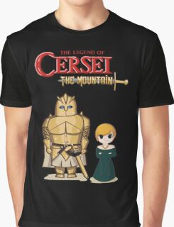 The Legend of Cersei - The Mountain Graphic T-Shirt