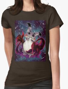 Spooky Mimikkyu  Womens Fitted T-Shirt