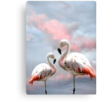 Flamingo Sky Canvas Print
