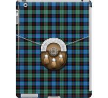 Clan Guthrie Tartan And Sporran iPad Case/Skin