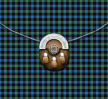 Clan Guthrie Tartan And Sporran by thecelticflame