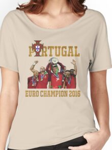 Portugal Champion 2016 Women's Relaxed Fit T-Shirt
