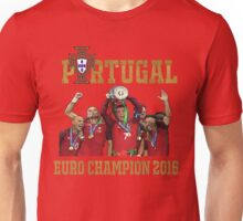 Portugal Champion 2016 Unisex T-Shirt