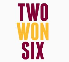 Cleveland Cavaliers Champions Two Won Six Womens Fitted T-Shirt