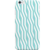 Zigzag geometric pattern in limpet shell iPhone Case/Skin