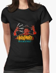 A Nightmare on Elm Street NES Womens Fitted T-Shirt