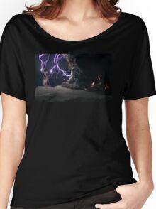 Cat Lightning  Women's Relaxed Fit T-Shirt