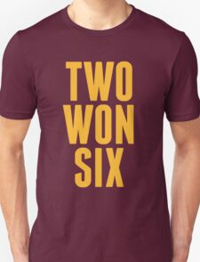 Cleveland Cavaliers Champions Two Won Six  Unisex T-Shirt