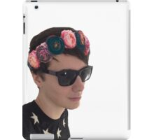 Danisnotonfire - Flower Crown iPad Case/Skin