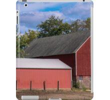 rural horse farm iPad Case/Skin
