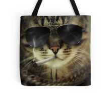 Bad Cat Tote Bag