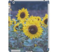 Life Seems Almost Enchanted After All iPad Case/Skin