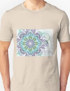 Flower - Abstract Fractal Artwork Unisex T-Shirt