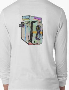 Water Colour Vintage Camera Long Sleeve T-Shirt