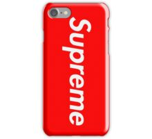 Supreme phone case iPhone Case/Skin