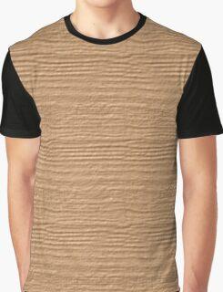 Desert Mist Wood Grain Texture Graphic T-Shirt