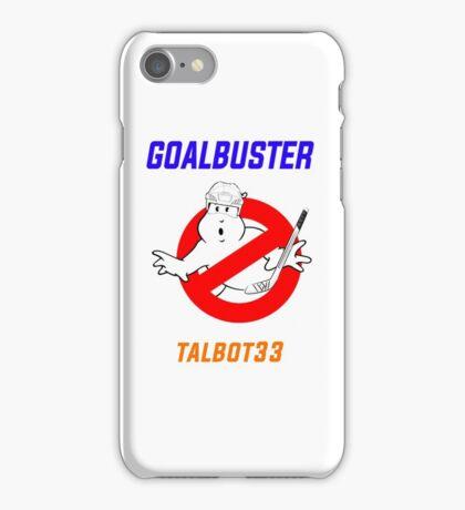 Edmonton Oilers Cam Talbot Goalbuster Ghostbusters iPhone Case/Skin