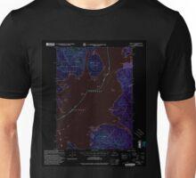USGS TOPO Map Alaska AK Craig D-1 355312 2000 63360 Inverted Unisex T-Shirt