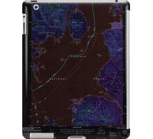 USGS TOPO Map Alaska AK Craig D-1 355312 2000 63360 Inverted iPad Case/Skin