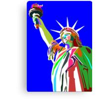 Liberty Statue Canvas Print