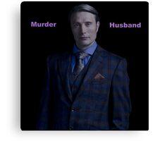 Murder Husband - Hannibal Lecter Canvas Print