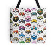 Pokemon Pokeball White Tote Bag