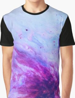 PURPLE GALAXY Graphic T-Shirt