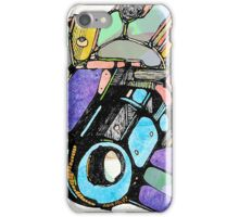 Abstract Colour Photography iPhone Case/Skin