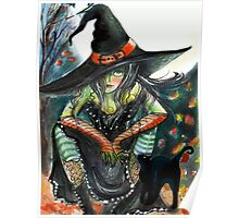 Witchy Attitude Poster