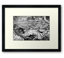 A World Within A World Framed Print