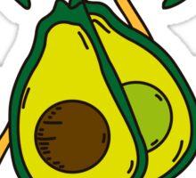 Avocado powah! Sticker