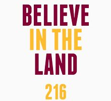 Cleveland Cavaliers Champions 2016 Believe in the Land 216 Unisex T-Shirt