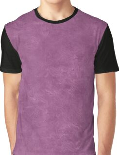 Amethyst Oil Pastel Color Accent Graphic T-Shirt