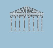 Geometric Pantheon in grey Unisex T-Shirt