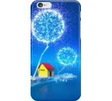 The blue island. iPhone Case/Skin